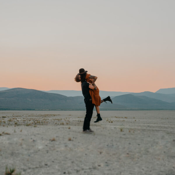 Sarah & Beau // Camping and Dirt Bikes in the Alvord Desert