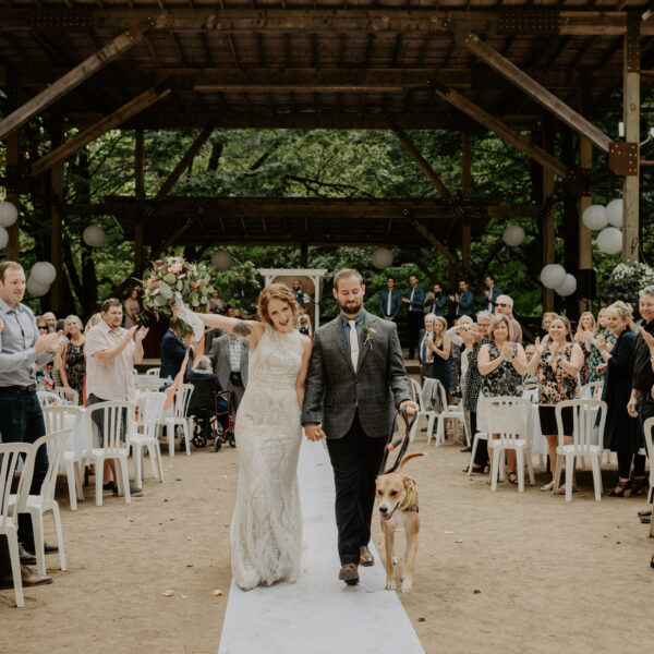 Presley & Eric // Horning's Hideout Camp Wedding